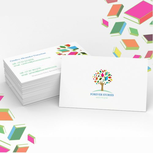 modern business card and logo design by the sight seekers - a graphic design agency in johannesburg