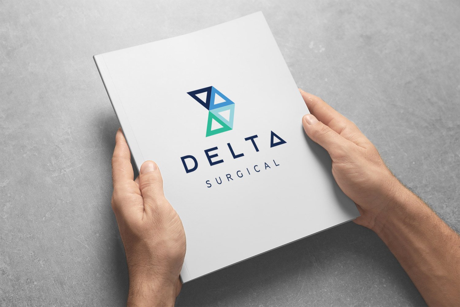 logo design of Delta Surgical by the sight seekers